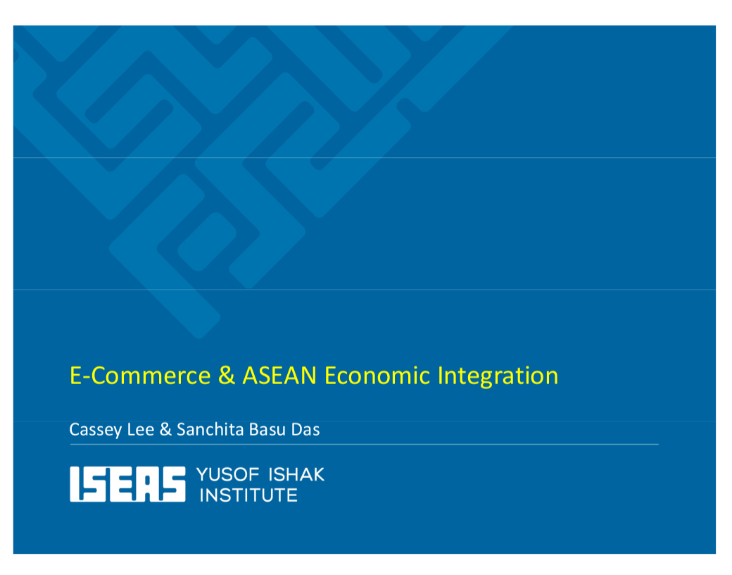 E-Commerce and ASEAN Economic Integration
